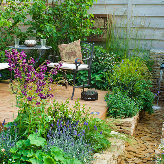 Garden design covered
